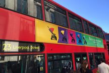 Here Comes Colour / The Raspberry 'Here comes colour' campaign splashed into London for 3 weeks (April/ May), appearing in major tube stations and on an array of London buses. The campaign will be running for further 2 weeks so keep your eyes peeled for the colourful movement. / by iCandy World