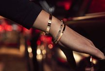 Crazy in LOVE / LOVE bracelet de Cartier.
