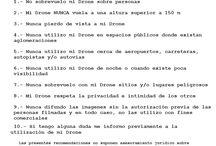 ·#DRONES / Información sobre la utilización de los #Drones
