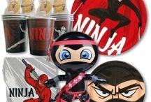 Ninja Birthday Party Ideas | KarateMart.com / View All Ninja Birthday Party Ideas Here: https://www.karatemart.com/party-supplies