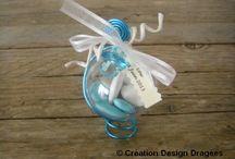 Boule dragées baptême  / Boule à dragées originales pour le baptême et la naissance.