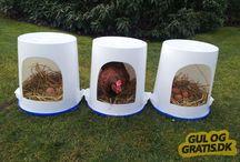reddekasse til høne