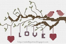 Crossstitch love