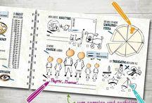 creation   papeterie für kinder / Bücher Illustrationen Kinder freundebuch malbuch