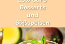 Low carb Desserts