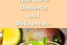 Dessert Low carb