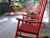 Porch Passion / Life might be different if we went back to front porch style homes! / by Diana Cole