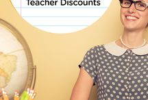 Teacher Discounts <3 / Teacher discounts