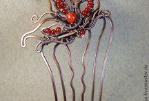 Hair accessories wire - Pins - tiaras - masks