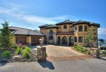 Southwestern Style Homes / www.windsorwindows.com / by Windsor Windows & Doors