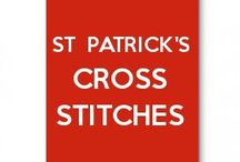 St Patrick day cross stitches