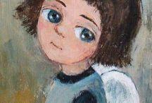 рисунки в д. с. (портрет)