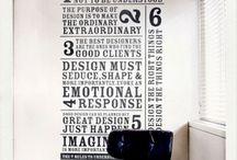 Typography / by Tiki