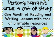 4th grade writing / by Candace Cantrell