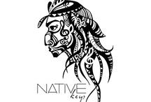 NATIVE KEYS HIP/HOP & R&B FUSION / LOGO DESIGNER - BETH KEENER - http://www.qbfashions.com
