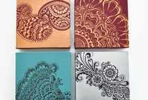 Paisley and Henna Patterns
