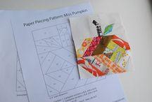 Paper piecing und PW Blöcke / by Stefanie Schneider