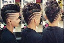 hair inspo undercut