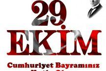29 Ekim Cumhuriyet Bayramımız Ulusal Bayram
