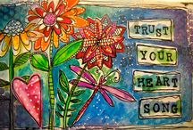 ~ art journal, more and more ... ~