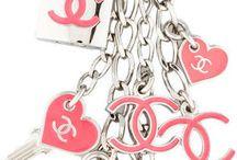 porte clés chanel