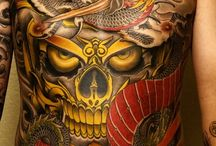 Japanese Tattoos / Japanese tattoos are unique in the context that each and every tattoo in this culture has a meaning to depict, which makes these as popular outside the country as they are within it. http://fabulousdesign.net/japanese-tattoos-designs/