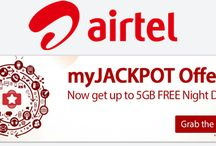 Airtel Jackpot Offer – Get Free 5 GB Internet (Grab Now) http://www.dwtricks.com/2016/08/airtel-jackpot-offer-get-free-5-gb-internet-grab-now.html/