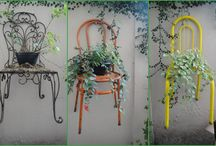 ✿ PLANTS in BEDS & CHAIRS ✿  / by Consuelo Cavalcanti
