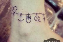 Tattoo tornozeleira