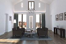 Projekt ELISABETH Interieur / Düsseldorf / Interieur-Gestaltung: Idee, Planung, 3D-Visualisierung und Rendering