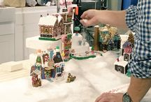 Lemax Christmas Village / Lemax Christmas Village lighted buildings, accessories and display ideas.