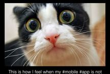 Mobile Jokes / Fun images about #mobile #apps