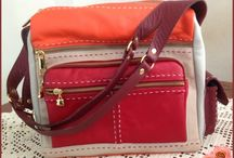 bags uber moda em couro / Bags leather