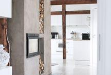 fireplace / by Heather Shedden
