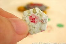 Quilting- Hexies and Yo-Yos