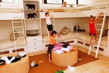 Bunk beds/children's rooms