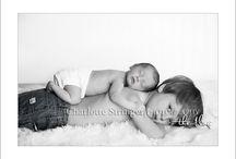 Newborn Photography / Newborn Posing and prop ideas