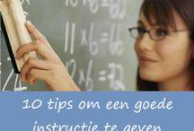 instructie geven