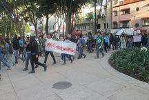Marcha Ayotzinapa 22/10/2014 / Marcha por la aparición con vida de los 43 estudiantes de la Normal Rural de Ayotzinapa desaparecidos la madrugada del 26 de septiembre en Iguala.