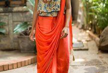 hatke saree drape