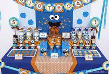 cookie monster party / Ideas y tips para hacer una divertida fiesta de cookie monster o el monstruo come galletas