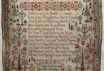 Antique Samplers - 18th Century / by Susan Stetz