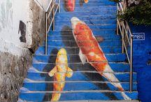 Escaleras / Espacios en la calle