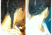 Protective Styling= Rapunzel Hair / Protective styles I l would like to try / by Jene'e Cameron