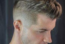 Męska fryzura