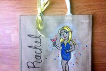 Jute Bags / Custom Jute Bag Designs www.calicoskies.co.uk
