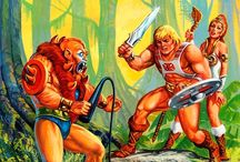 Masters of the Universe, He-Man, She-Ra, Skeletor, Hordak and more.