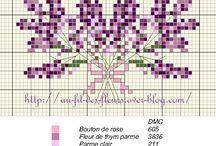 x-stitch charts