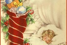 Vintage Christmas Cards / by Mary Kay Killian