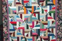 Quilts made with 2.5-in. strips